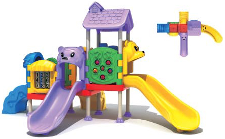 Outdoor Toddler Playground Equipments