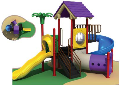 Kids Playground Equipment Design