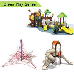 Green Playground Equipment