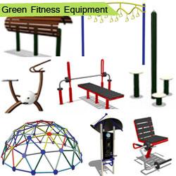Green Fitness Equipment