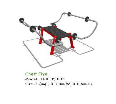 Chest Flye Fitness Equipment