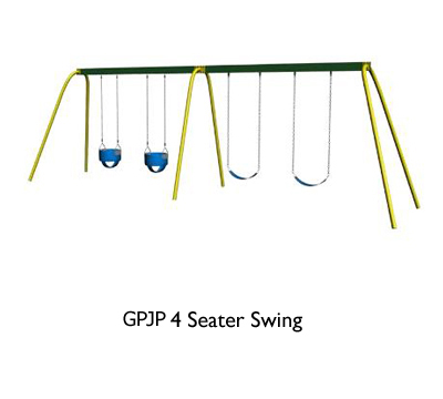 GPJP 4 Seater Swing
